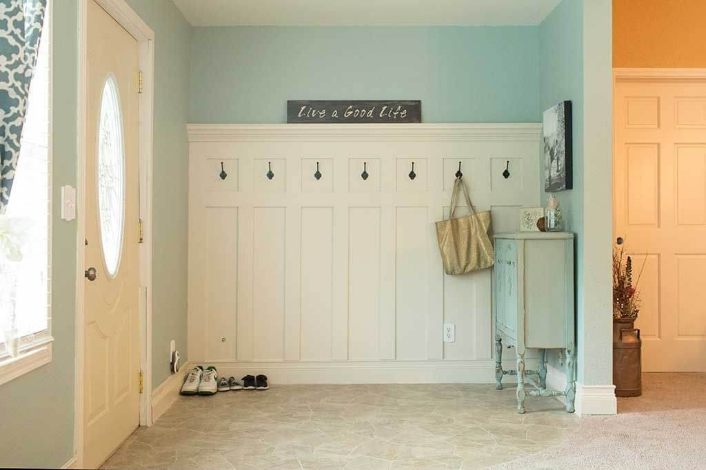 entryway closet storage ideas - 45 Superb Mudroom & Entryway Design Ideas with Benches